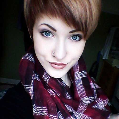 Pixie-Style New Cute Hairstyle Ideas for Short Hair
