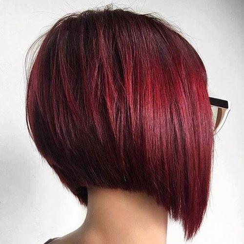 Red-Bob-Hair Haircut Styles for Short Hair