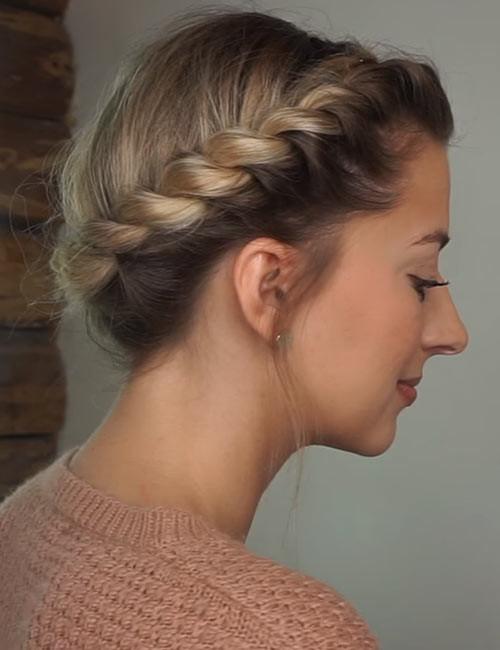 Rope-Crown-Braid Beautiful Crown Braid Hairstyles