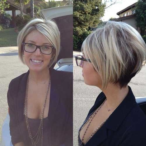 Short-A-Line-Haircut Must-See Straight Hairstyles for Short Hair
