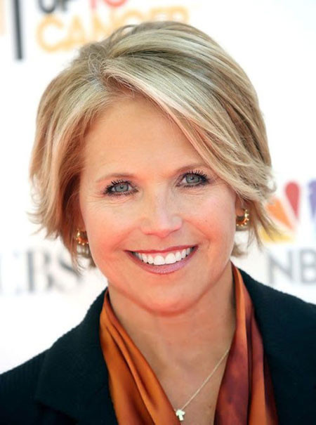 Short-Gorgeous-Blonde-Filled-Bob Short Hair for Older Women