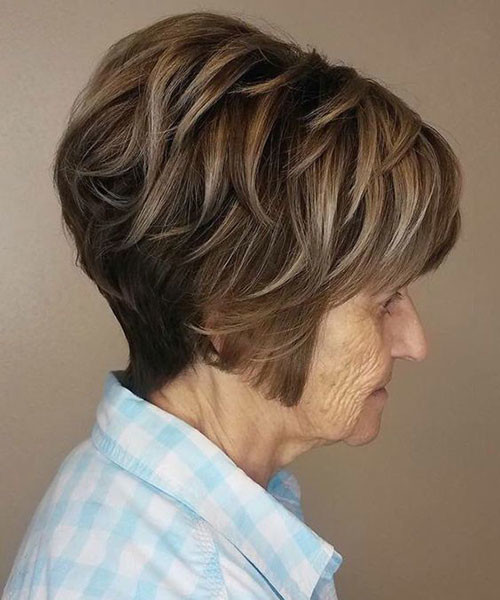 Short-Haircut-for-Older-Women-1 Latest Short Haircuts for Women 2019