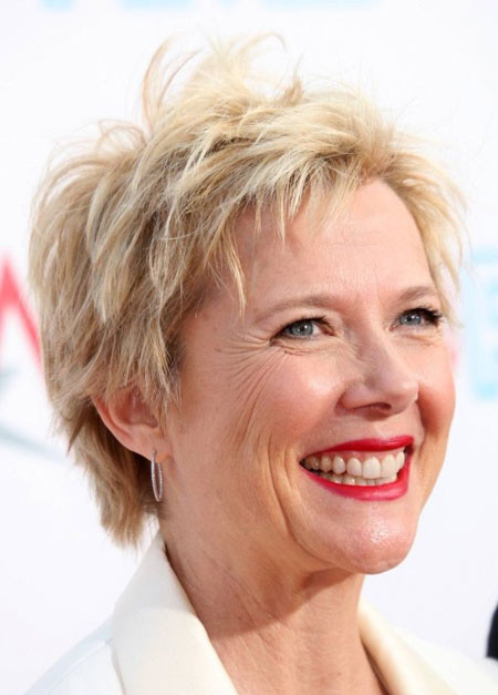 Short-Layered-Blonde-Hair Short Hair for Older Women