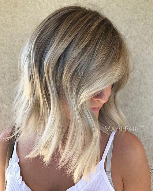 Short-Light-Brown-Hair Beautiful Brown to Blonde Ombre Short Hair