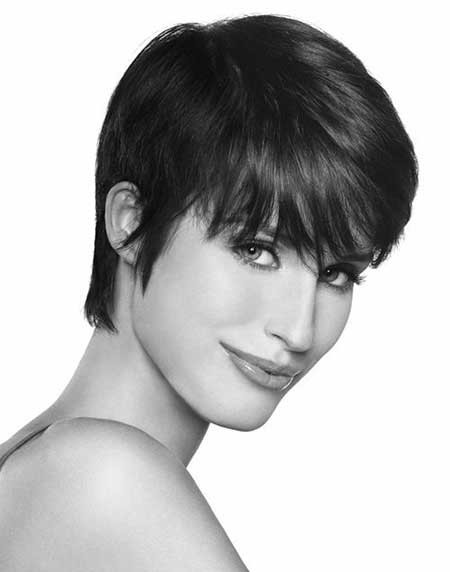 Short-Simple-Cut Short Cuts for Straight Hair