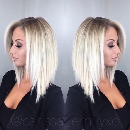 Straight-Blonde-Hair Popular Short Blonde Hair 2019