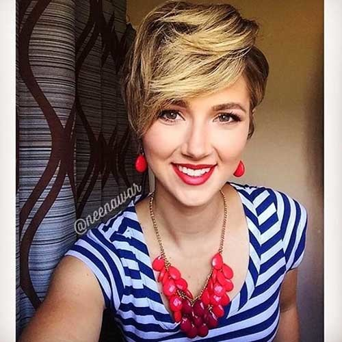 Textured-Pixie-Cut New Cute Hairstyle Ideas for Short Hair