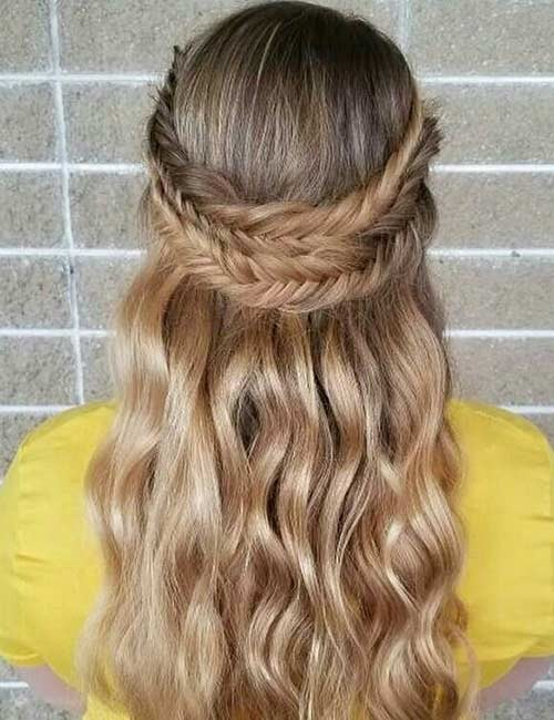 Tri-Braided-Crown Beautiful Crown Braid Hairstyles