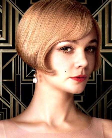 Vintage-Style-Short-Hair Beautiful Short Celebrity Hairstyles