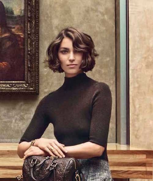 Wavy-Short-Hair Really Adorable French Style Short Haircuts
