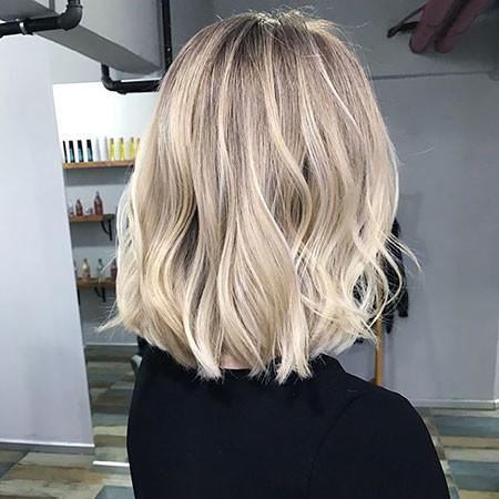 Wavy New Bob Hairstyles 2019