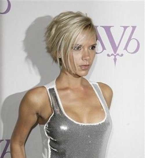 14.Victoria-Beckham-Short-Hair Victoria Beckham Short Blonde Hair