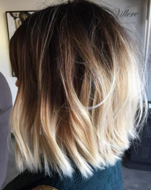 15-ombre-brown-to-blonde-short-hair Beautiful Brown to Blonde Ombre Short Hair
