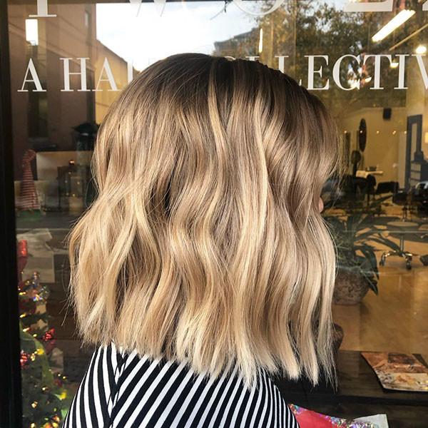 15-short-wavy-bob New Short Wavy Hair Ideas in 2019