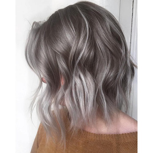 18-short-haircut.com-ash-blonde-balayage-short-hair New Ash Blonde Short Hair Ideas