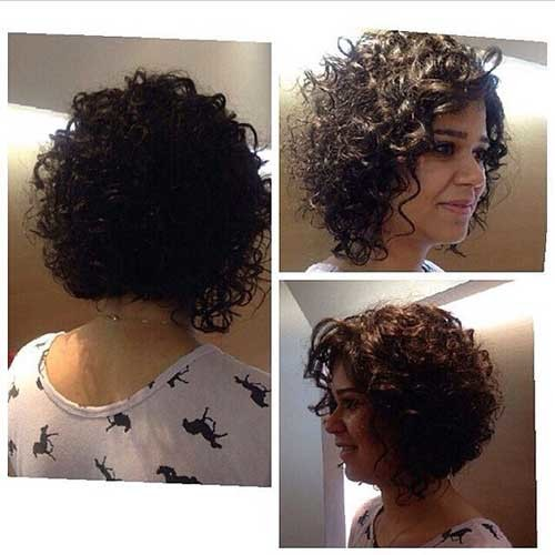 2019-Curly-Short-Hairstyle Very Popular Curly Short Hairstyles Every Lady Need to See