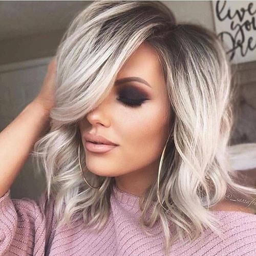 23-short-haircut.com-ash-blonde-ombre-short-hair New Ash Blonde Short Hair Ideas