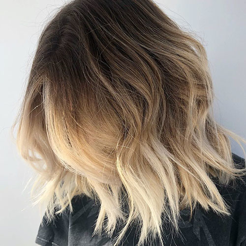 25-brown-and-blonde-short-hair Beautiful Brown to Blonde Ombre Short Hair