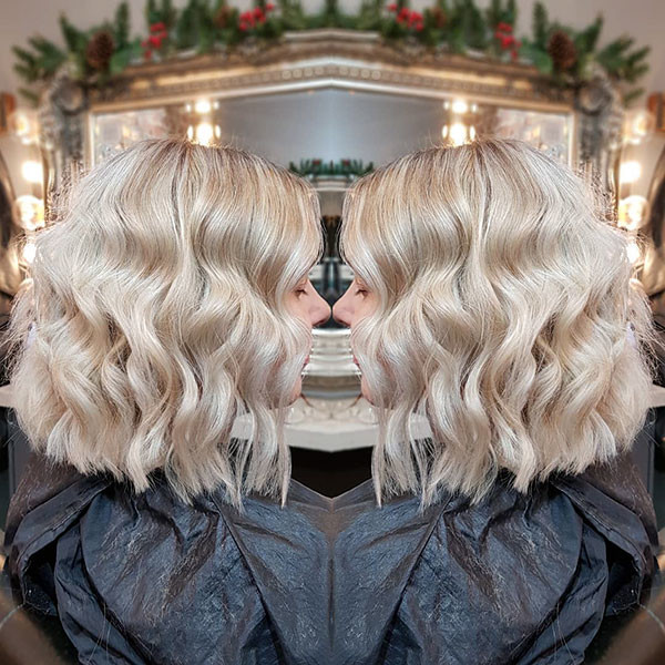 25-short-wavy-blonde-hair New Short Wavy Hair Ideas in 2019