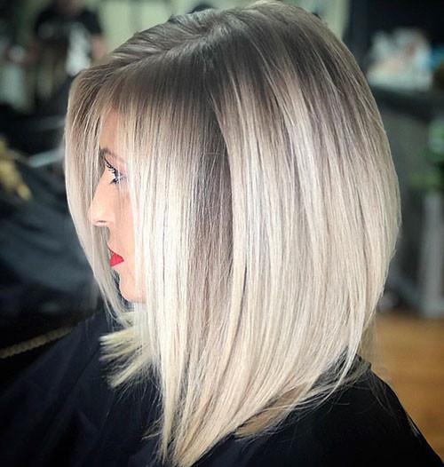27-short-haircut.com-ash-blonde-balayage-short-hair New Ash Blonde Short Hair Ideas