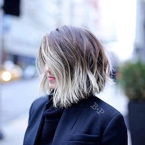 29-brown-to-blonde-short-hair Beautiful Brown to Blonde Ombre Short Hair