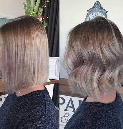 33-short-haircut.com-ash-blonde-balayage-short-hair New Ash Blonde Short Hair Ideas