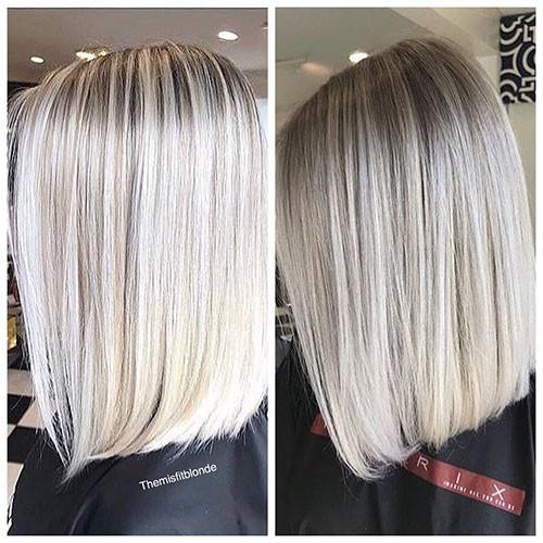 37-short-haircut.com-ash-blonde-balayage-short-hair New Ash Blonde Short Hair Ideas