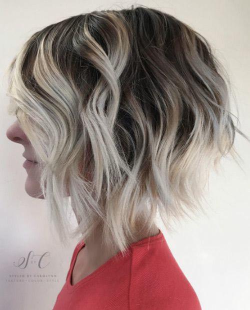 38-short-blonde-brown-hair Beautiful Brown to Blonde Ombre Short Hair