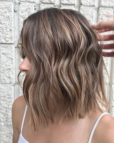 43-medium-length-blunt-bob Latest Bob Haircut Ideas for 2019