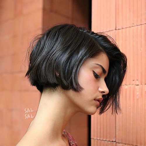46-bobs-for-thick-hair Latest Bob Haircut Ideas for 2019