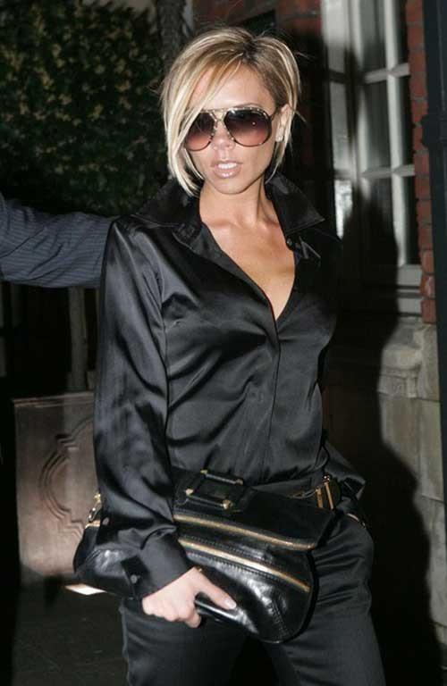6.Victoria-Beckham-Short-Hair Victoria Beckham Short Blonde Hair