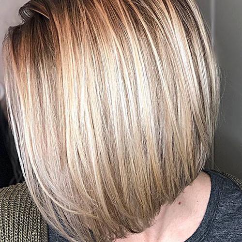 69-straight-bob-haircut Latest Bob Haircut Ideas for 2019