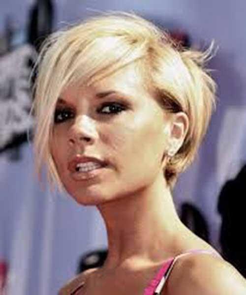 8.Victoria-Beckham-Short-Hair Victoria Beckham Short Blonde Hair