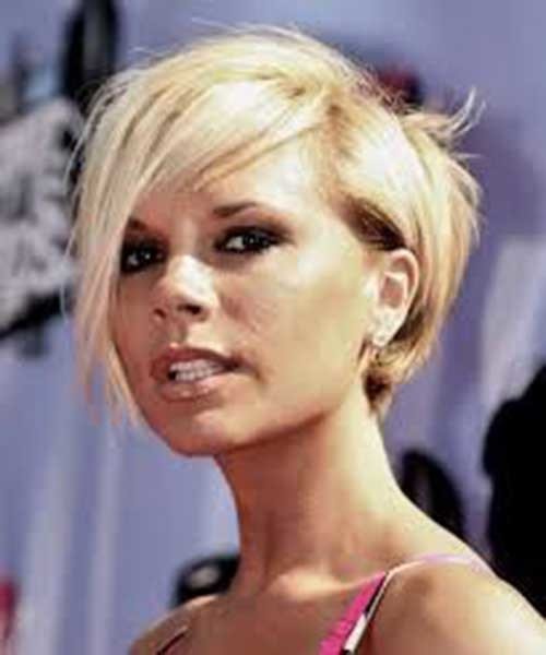 8.Victoria-Beckham-Short-Hair Victoria Beckham Short Blonde Hair
