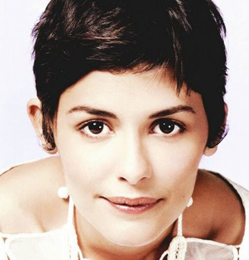 Audrey-Tautou-hairstyle Short and Cute Hairstyles for Women