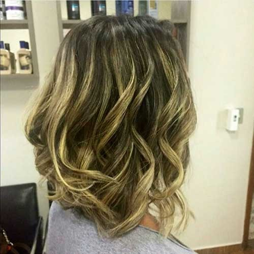 Balayage-Bob-Styles Most Magnetizing Hairstyles for Curly and Wavy Hair