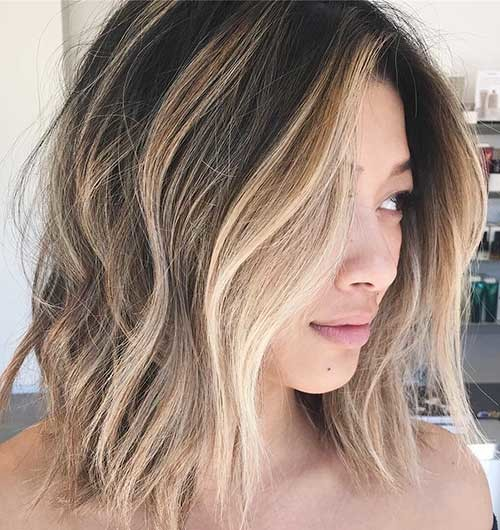 Beautiful-Contrast Cool Short Hairstyles You Can Rock This Summer
