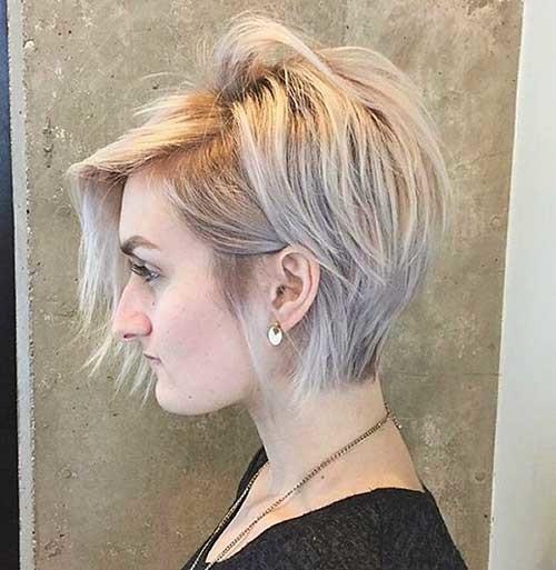 Blonde-Hair-Idea Nice Short Hairstyle Ideas for Teen Girls