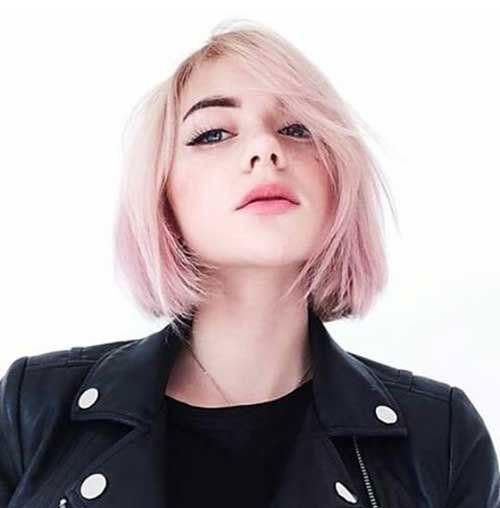 Blonde-Hair-for-Girls Trendy Hair Colors for Short Hair for Ladies