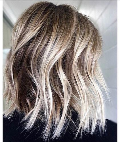 Blonde-Highlights Latest Bob Haircut Ideas for 2019