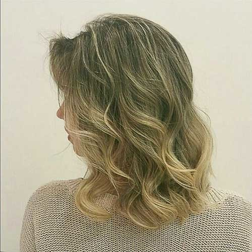 Blonde-Long-Bob-Hairstyle Most Magnetizing Hairstyles for Curly and Wavy Hair