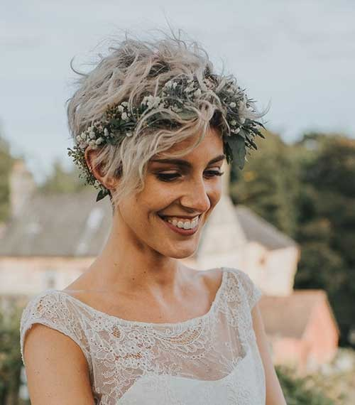 Blonde-Short-Hair-for-Wedding Best Short Hairstyles for Wedding You Should See