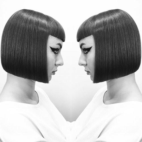 Blunt-Bob-Haircut-1 Populer Blunt Bob With Bangs 2019