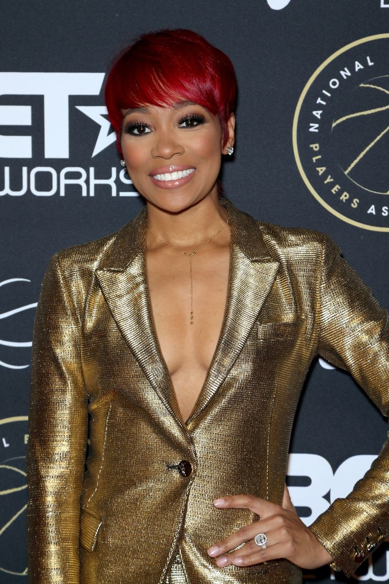 Boldly-Colored-Bowl-Cut Best Short Hairstyles for Black Women