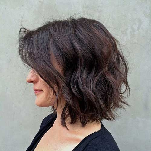 Brunette-Bob-Hairstyle-2019 Best Must-Try Brunette Bob Haircuts