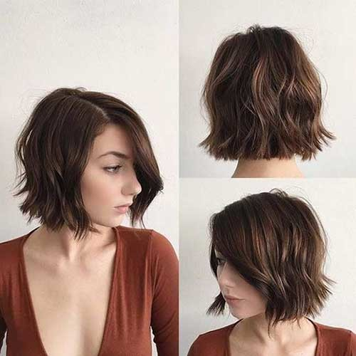 Brunette-Bob Best Must-Try Brunette Bob Haircuts