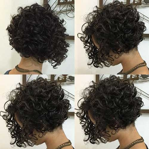 Casual-Curly-Bob-Hairstyle Very Popular Curly Short Hairstyles Every Lady Need to See