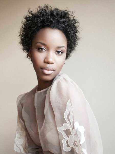 Cool-and-Charming-Curly-Hairstyle The best short haircuts for black women