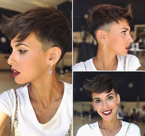 Cute-Boyish-Haircut Cute Short Haircuts and Styles Women