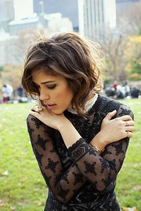 Cute-Short-Wavy-Bob-for-Girls The Best Wavy Hairstyles for Short Hair